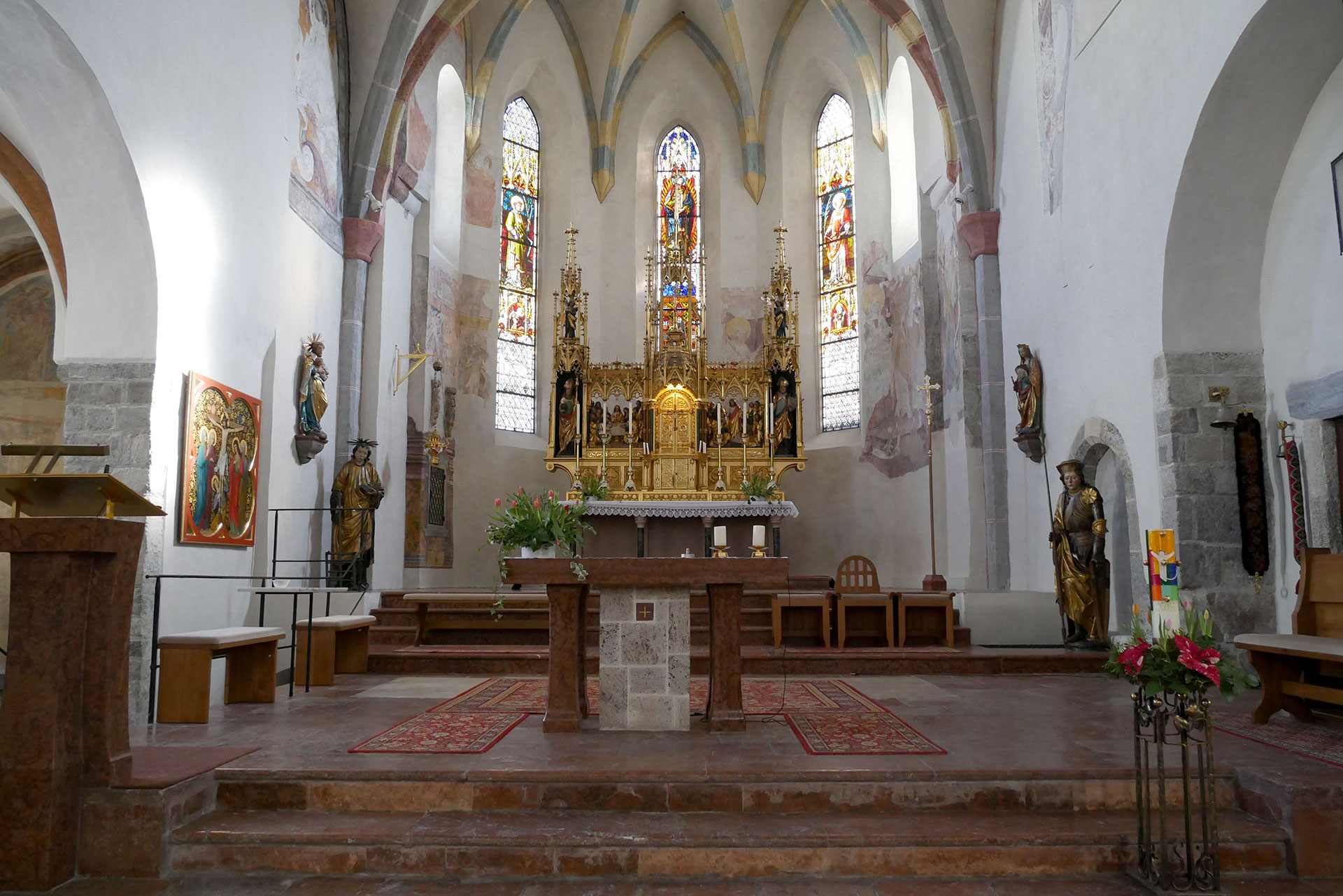 Stadtpfarrkirche Zell am See St. Hippolyt
